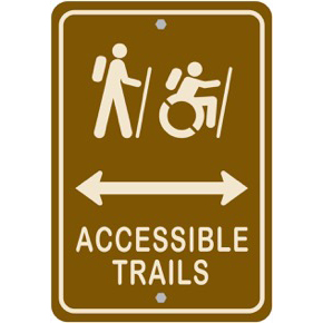 Accessible Trails Sign